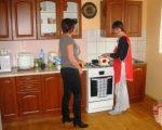 Zajęcia w pracowni kulinarnej